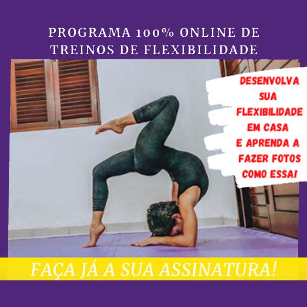 Curso de Flexibilidade da escola Ponto Triplo